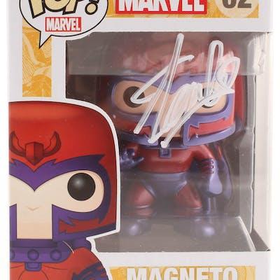 Stan Lee Signed Marvel Magneto #62 Funko Pop! Vinyl Figure (Radtke