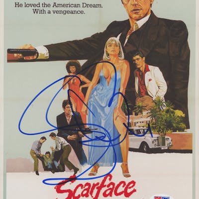 "Steven Bauer Signed ""Scarface"" 8x10 Photo (PSA COA)"