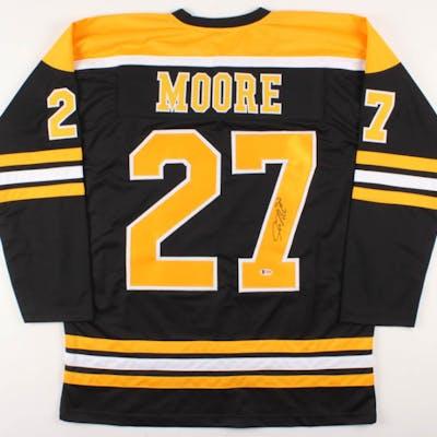 designer fashion 5dd98 59ae3 John Moore Signed Boston Bruins Jersey (Beckett COA) | Barnebys