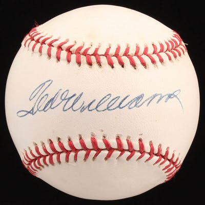 Ted Williams Signed OAL Baseball (JSA ALOA)