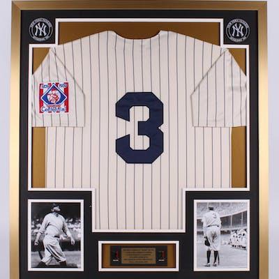 Babe Ruth New York Yankees 32x36 Custom Framed Jersey Display