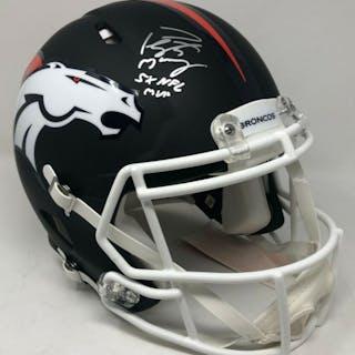 Peyton Manning Signed Denver Broncos Limited Edition Custom Matte