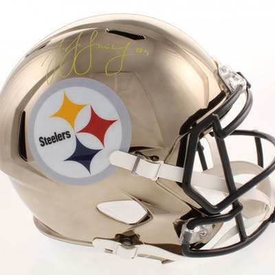 JuJu Smith-Schuster Signed Pittsburgh Steelers Full-Size Chrome Speed