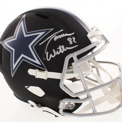 Jason Witten Signed Dallas Cowboys Full-Size Matte Black Speed Helmet
