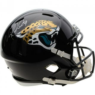 Nick Foles Signed Jacksonville Jaguars Full-Size Speed Helmet (Fanatics