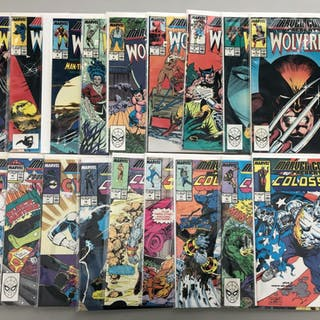 "Lot of (36) 1988-90 ""Marvel Presents"" Marvel Comic Books"