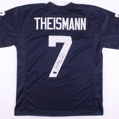 "Joe Theismann Signed Notre Dame Fighting Irish Jersey Inscribed ""CHOF"