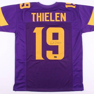 Adam Thielen Signed Jersey (Radtke COA)