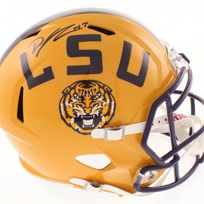 DJ Chark Signed LSU Tigers Full-Size Speed Helmet (Radtke COA & Chark Hologram)