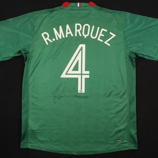 Rafael Marquez Signed Mexico Jersey (Beckett COA)