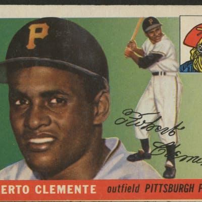 1955 Topps 164 Roberto Clemente Rc Barnebys