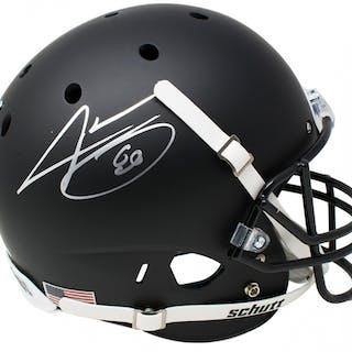 Jarvis Landry Signed Schutt Full-Size Schutt Matte Black Helmet (JSA COA)