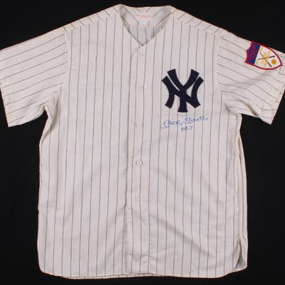 online store 59248 ad185 Mickey Mantle Signed New York Yankees Mitchell & Ness Jersey ...