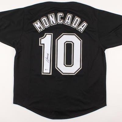 Yoan Moncada Signed Jersey (Beckett COA)