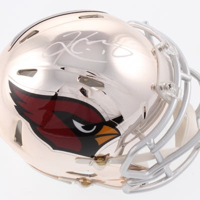 Kyler Murray Signed Arizona Cardinals Chrome Speed Mini Helmet (JSA Hologram)
