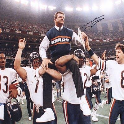 Mike Ditka Signed Chicago Bears 16x20 Photo (JSA COA)