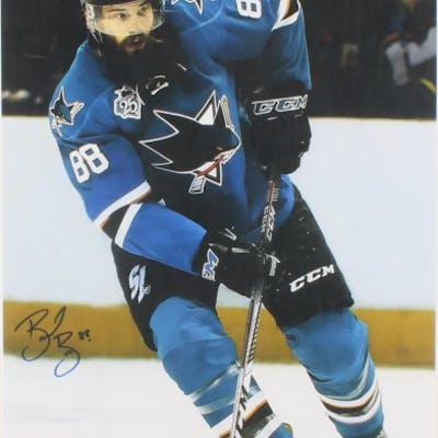 Brent Burns Signed San Jose Sharks 14x35 Photo (Burns COA)