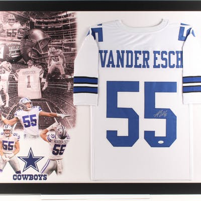 Leighton Vander Esch Signed Dallas Cowboys 35 5x43 5 Custom
