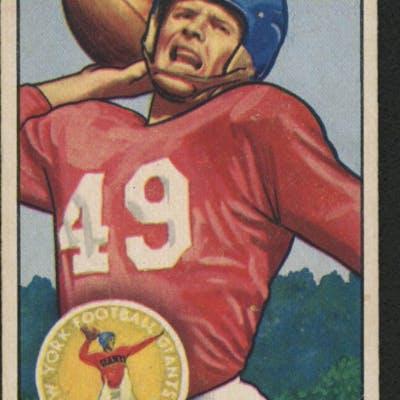 1951 Bowman #20 Tom Landry RC