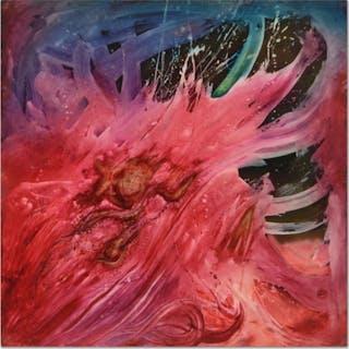 Martin Katon Signed 48x48 Original Oil Painting on Wood