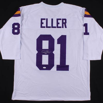 "Carl Eller Signed Jersey Inscribed ""HOF 04"" (JSA COA)"