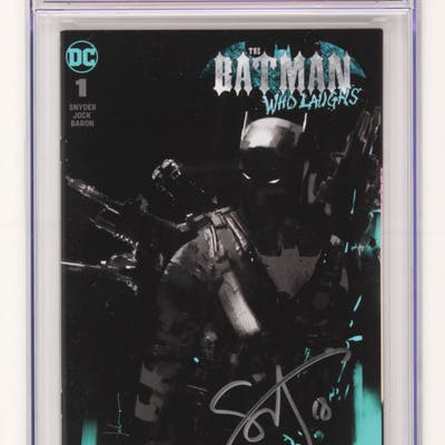 "Scott Snyder Signed 2019 ""The Batman Who Laughs"" #1 D.C. Comic Book (CGC 9.8)"