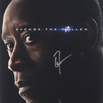 "Don Cheadle Signed ""The Avengers"" 11x14 Photo (PSA COA)"