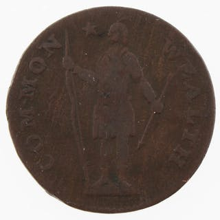 1788 Massachusetts Colonial Copper Coin