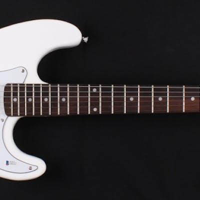 Travis Barker & Mark Hoppus Signed Fender Blink-182 Electric Guitar