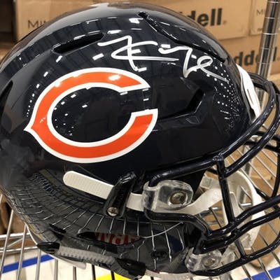 newest 20710 5022e Khalil Mack Signed Chicago Bears Full-Size Authentic On ...