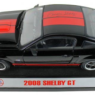 Carroll Shelby Signed 2008 Shelby GT 1:18 Die-Cast Car (Beckett COA)