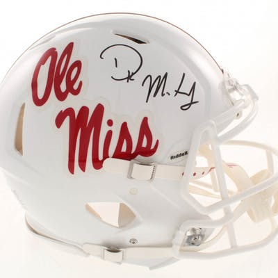 D.K. Metcalf Signed Ole Miss Rebels Full-Size Authentic On-Field Speed