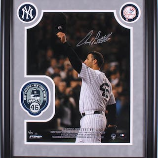 Andy Pettitte Signed LE New York Yankees 23x27 Custom Framed Photo