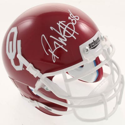 Roy Williams Signed Oklahoma Sooners Mini Helmet (JSA COA)