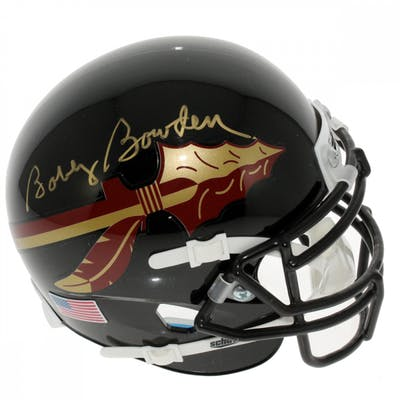 Bobby Bowden Signed Florida State Seminoles Mini Helmet (Sports Collectibles
