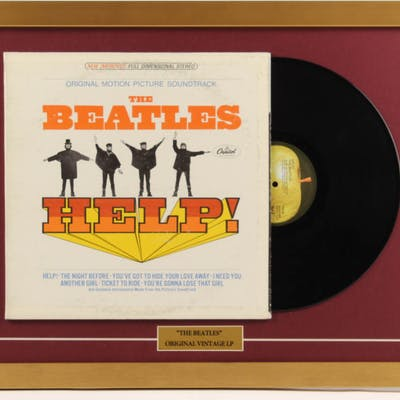 "The Beatles ""The Beatles"" 18x24 Custom Framed Vinyl Record Album"