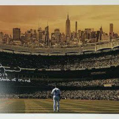 Mariano Rivera Signed New York Yankees 10x20 Limited Edition Photo