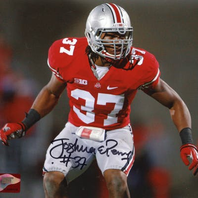 Joshua Perry Signed Ohio State Buckeyes 8x10 Photo (Sports Collectibles