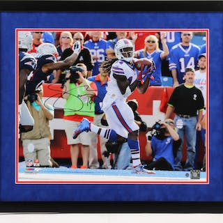 Sammy Watkins Signed Buffalo Bills 22x26 Custom Framed Photo Display