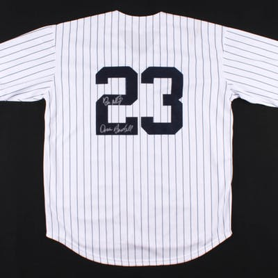 "Don Mattingly Signed New York Yankees Jersey Inscribed ""Donnie Baseball"""