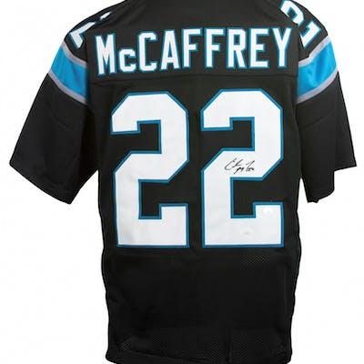 Christian McCaffrey Signed Jersey (JSA COA)