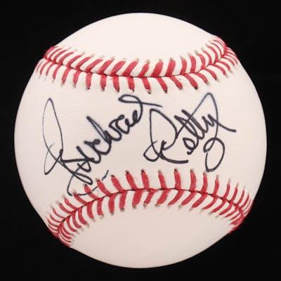 Richard Petty Signed OML Baseball (Beckett COA)