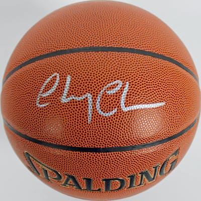 "Chevy Chase Signed ""Fletch"" NBA Basketball (PSA COA)"