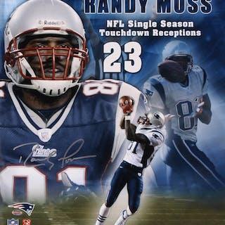 Randy Moss Signed New England Patriots 16x20 Photo (Your Sports Memorabilia