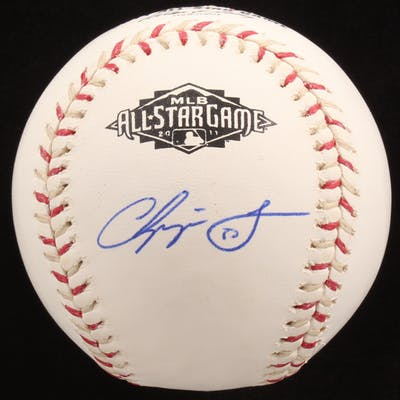 Chipper Jones Signed 2011 All-Star Game Baseball (JSA Hologram)