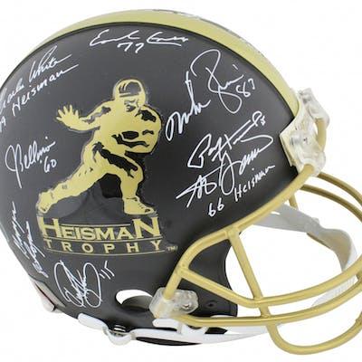 Heisman Trophy Winners Full-Size Authentic On-Field Helmet Signed