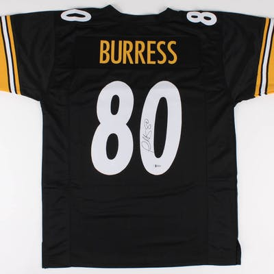Plaxico Burress Signed Jersey (Beckett COA)