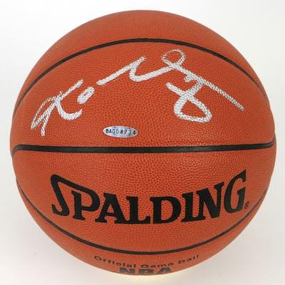 Kobe Bryant Signed NBA Game Ball Basketball (UDA COA)
