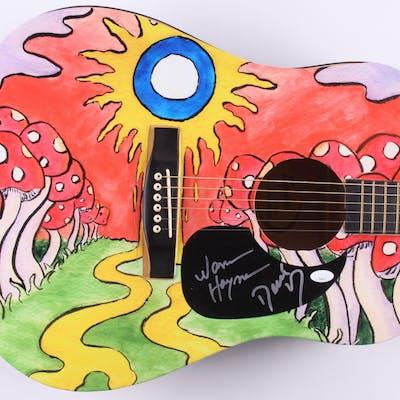 "Warren Haynes & Derek Trucks Signed Fender 40"" Acoustic Guitar (JSA COA)"