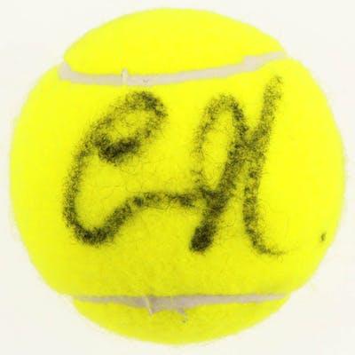 Anna Kournikova Signed Tennis Ball (PSA COA)